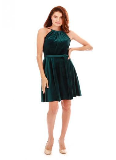 6ixty8ight Abiye Elbise Yeşil